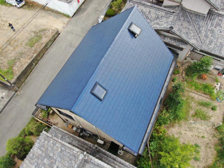 岡山市F様邸 屋根塗装工事・外壁塗装工事