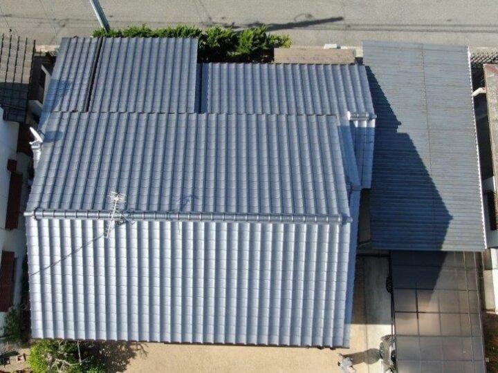 岡山市中区S様|葺き替え工事