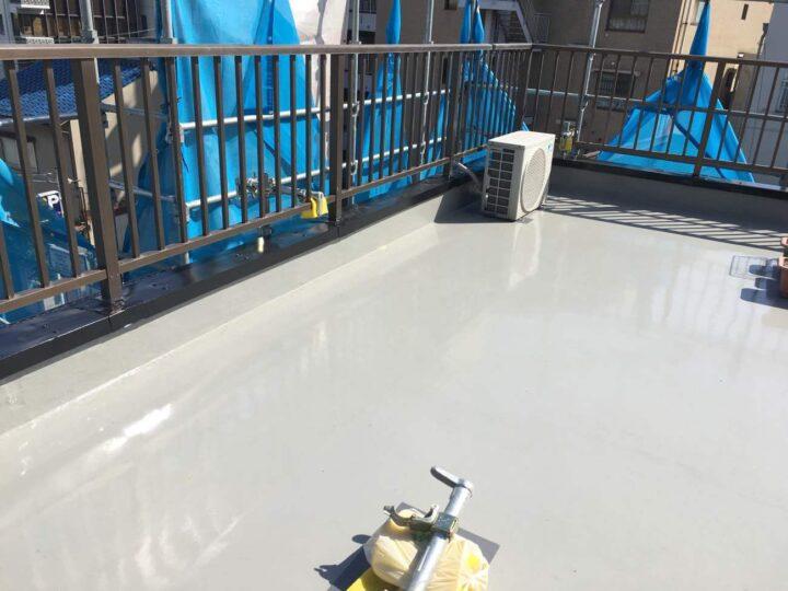 岡山市北区H様|防水改修塗装