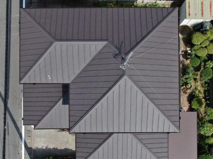 岡山県玉野市M様|屋根葺き替え工事