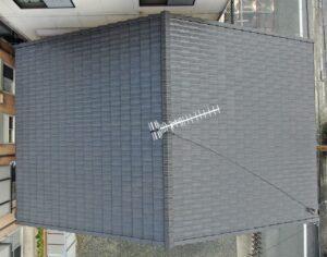 岡山市北区K様|無機ハイブリット塗装